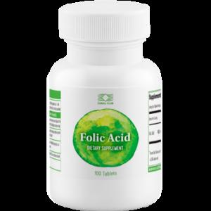 Folic Acid Coral Club